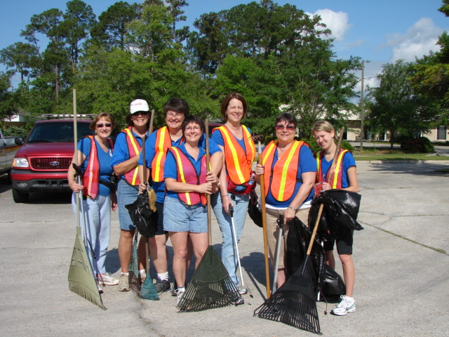 "JA Sisters ""Keeping Slidell Beautiful"""