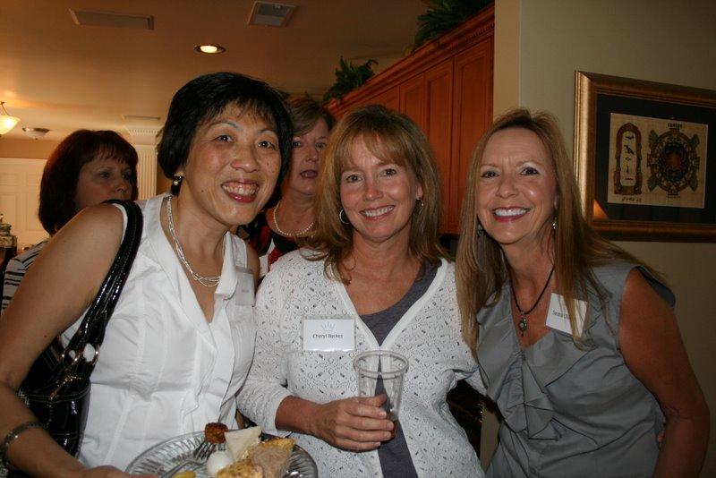 Lena Joyce, Cheryl Backes, & Sandra Chavers at the Provisional Tea.