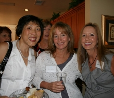 Lena Joyce, Cheryl Backes, & Sandra Chavers at the Provisional Tea.