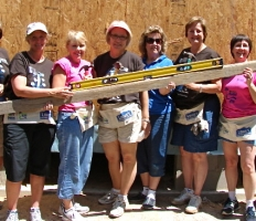 JA Sisters at Women's Build