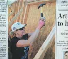Maggie Varnado featured in the Paper