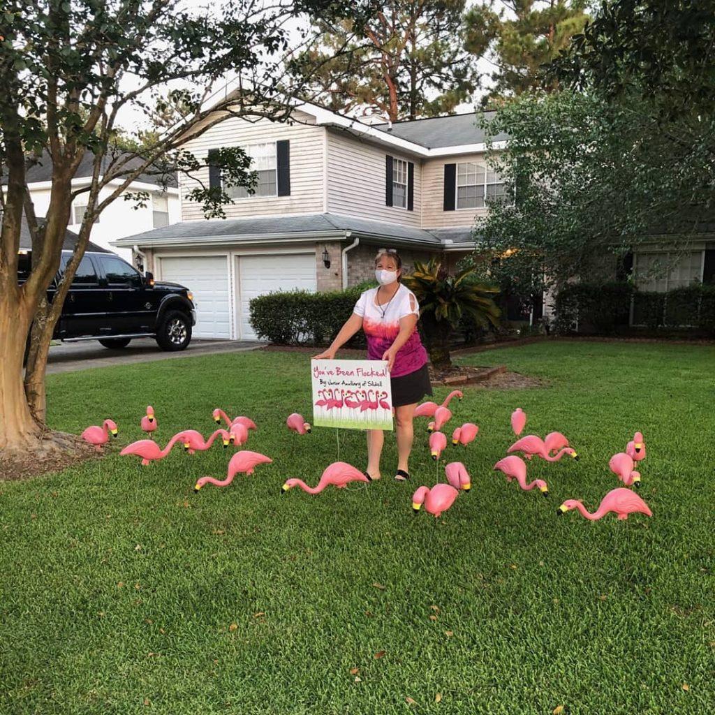 Natalie Smith flocking a home