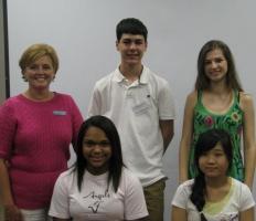 Debra Durham with her Juniors