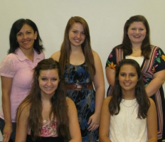 Sharon Satter with her Juniors